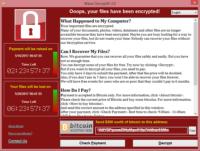 Wannacry Ransomware Wanacry Wana Decryptor