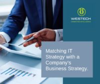 Matching your IT Strategy with business strategy