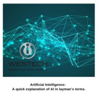 Artificial Intelligence. A quick explanation of AI in layman's terms