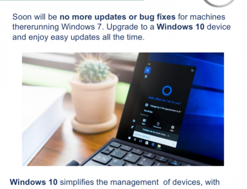 No More Updates For Windows 7