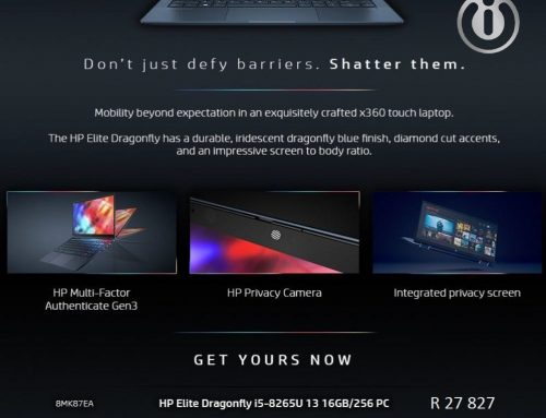 HP Elite Dragonfly Laptop Special
