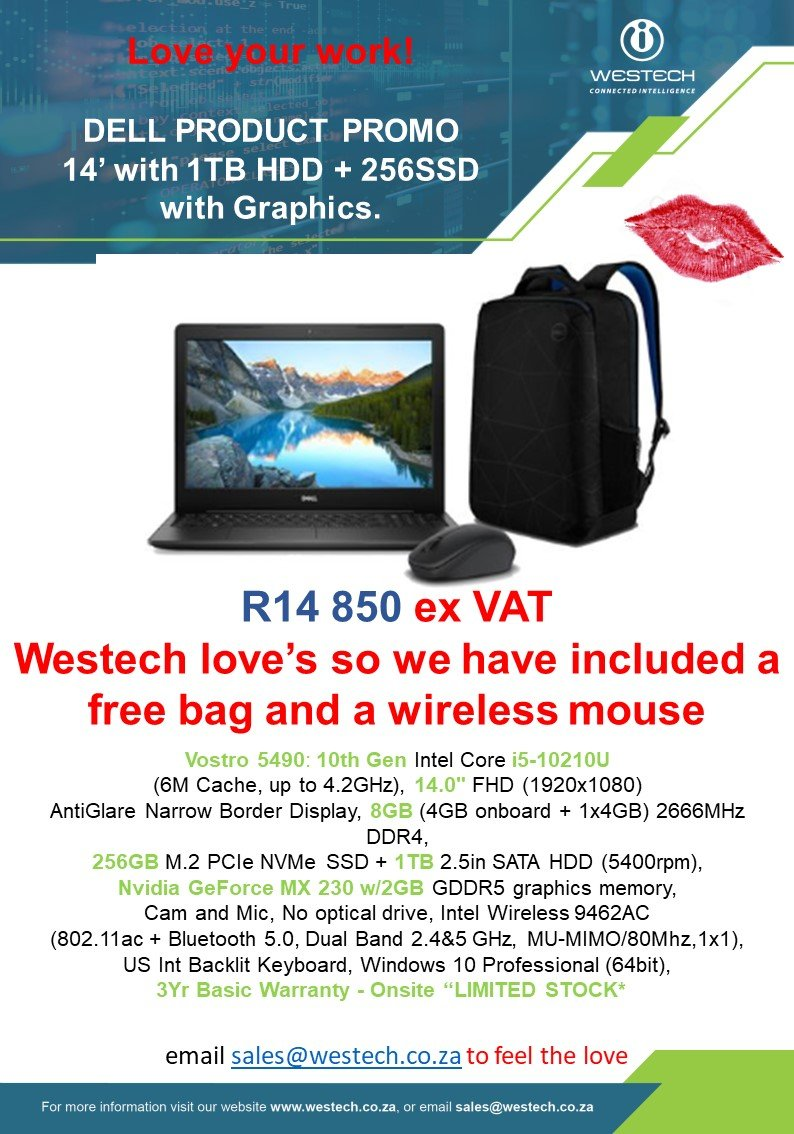 Dell Laptop Special February 2020